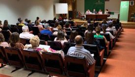 Imagen de la reunión de Paredes con las asociaciones y ayuntamientos