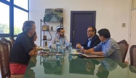 Reunión entre Ayuntamiento de La Línea y Cámara de Comercio