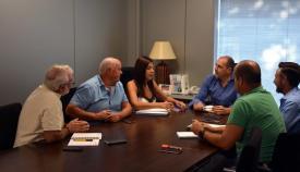 Imagen de la reunión entre Ayuntamiento y Arcgisa
