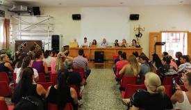 Reunión con las familias de la Escuela Infantil La Atunara
