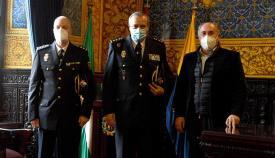 El nuevo comisario jefe de Operaciones de la Policía, recibido en Algeciras