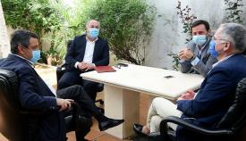 El alcalde de Algeciras se reúne con el nuevo portavoz del PP en Diputación