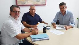 Un reunión reciente entre Mayor-Net y el concejal de Educación