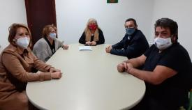 Imagen de la reunión celebrada en las últimas horas. Foto: lalinea.es