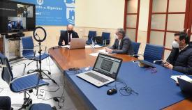 García y Landaluce estudian vías para paliar los efectos de la pandemia