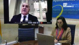 El alcalde de Algeciras se reúne con responsables de Red Eléctrica