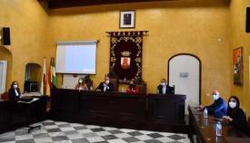 Reunión con Red Eléctrica celebrada el pasado marzo