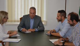 Imagen de la reunión en el Ayuntamiento de San Roque