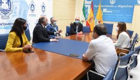 Landaluce y PSOE debaten sobre la recuperación del Gobierno Militar