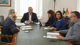 Reunión celebrada en el Ayuntamiento de San Roque