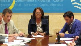 Juan Cid es la delegada de Fiestas de Algeciras