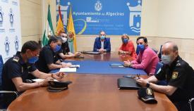 Coordinado el protocolo de seguridad para la Selectividad en Algeciras