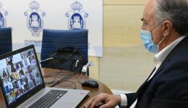 Landaluce, presente en el encuentro de alcaldes andaluces de la FAMP