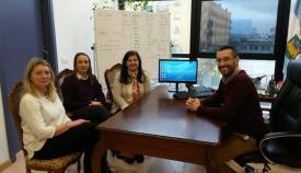 El alcalde de La Línea recibió a la nueva directora de la UNED Campo de Gibraltar
