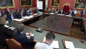 Imagen de la reunión celebrada en Londres
