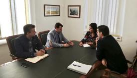 Reunión entre el Consorcio de Transporte y el Ayuntamiento de San Roque