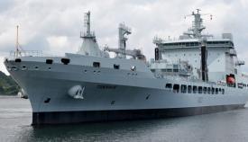El buque Tiderace