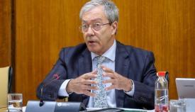 Rogelio Velasco, consejero de Economía.de la Junta