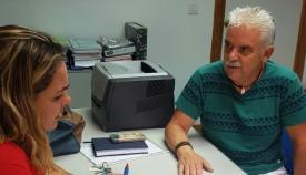Rosa Pérez y José Romero, en una imagen de archivo