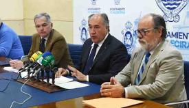El alcalde de Algeciras, José Ignacio Landaluce, en una comparecencia reciente