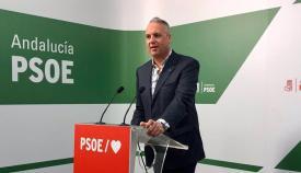 Juan Carlos Ruiz Boix, en rueda de prensa. Foto: NG