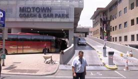 Aparcamiento de Midtown, en Gibraltar