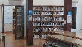 El interior de la Biblioteca Municipal de La Línea