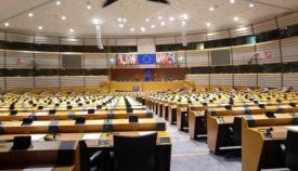 Sala de comisiones del Parlamento Europeo