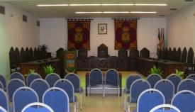 El salón de Plenos del Ayuntamiento de La Línea. Foto: lalínea.es