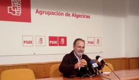 El diputado socialista por Cádiz, Salvador de la Encina