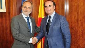 Salvador De la Encina y Gerardo Landaluce