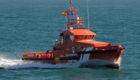 Una embarcación de Salvamento Marítimo
