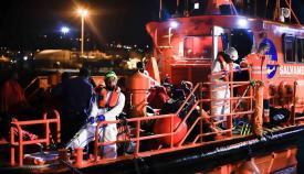 Una imagen de archivo de Salvamento Marítimo