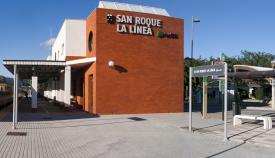 Una imagen de la estación de tren San Roque-La Línea. Foto: NG