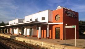 Imagen de archivo de la estación de San Roque - La Línea