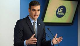 Pedro Sánchez, presidente del Gobierno en una imagen de archivo