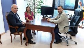 Javier Sánchez Rojas, María del Mar Sánchez y Juan Franco