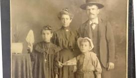 Sanroqueños en Estados Unidos. Una imagen de 1910