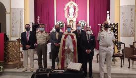 Foto de grupo en la iglesia de la Palma