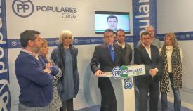 El presidente del PP en Cádiz, Antonio Sanz, en imagen de archivo