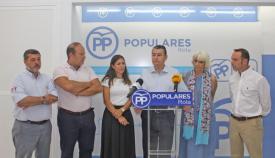 Antonio Sanz pide a Junta y Gobierno ayuda para la crisis migratoria