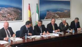 Imagen de la reunión desarrollada en Algeciras
