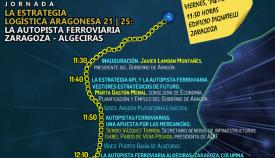 Este viernes se presenta la Autopista Ferroviaria Algeciras-Zaragoza