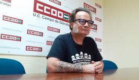 Sebastián Alcón es el secretario provincial de Enseñanza de CCOO