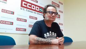 El Secretario General del Sindicato de Enseñanza de CCOO de Cádiz, Sebastián Alcón.