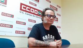Sebastián Alcón es el secretario provincial de Enseñanza de CCOO. Foto: CCOO
