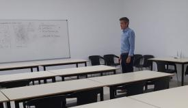 Sebastián Hidalgo, concejal de Educación del Ayuntamiento de La Línea