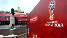 Cartel de la sede del Mundia de Rusia