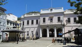 Sede del Parlamento gibraltareño. Foto NG
