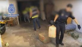 Imagen de archivo de una operación de la Policía Nacional contra el narcotráfico